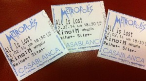 All is lost ticket