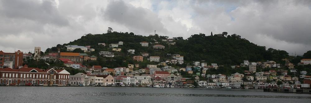 Ausfahrt St. George, Grenada