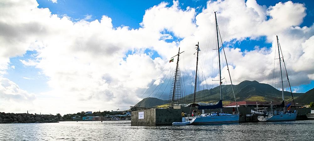 Hafeneinfahrt Basseterre